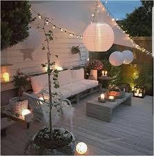 diy backyard lighting new outdoor ideas