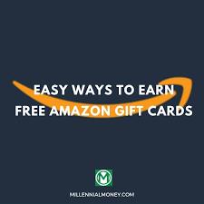 earn free amazon gift cards