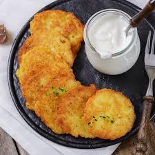 traditional hanukkah potato latkes recipe