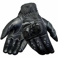 road gloves rjays mach 6 leather black