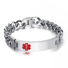 whole cal alert bracelet chain