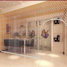 1pc Crystal Beaded Curtain Room Divider Party Wedding Kids Bedroom Decorations Walmart Com Walmart Com