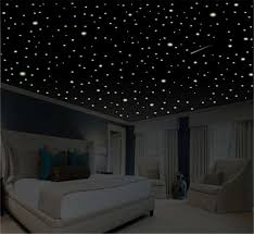 Romantic Bedroom Decor Star Wall Decal Glow In The Dark Etsy