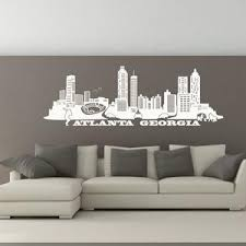 City Skyline Wall Decal Skyline Wallpaper City Wallpaper Style And Apply