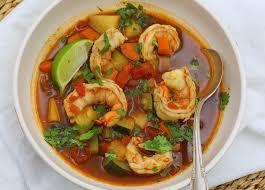 Caldo de Camaron (Mexican Shrimp Soup) –