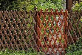 17 Lattice Fence Ideas For Inspiration Trees Com