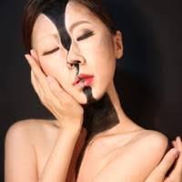 korean makeup artist optical illusion