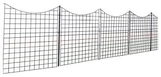 42 Tall Zippity Garden Fence With 5 Panels And 6 Stakes Transitional Home Fencing And Gates By Wambam Fence Inc