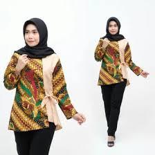 Baju batik atasan kombinasi memang sedang digandrungi oleh kawula muda dewasa ini. Jual Produk Model Baju Batik Kombinasi Wanita Murah Dan Terlengkap November 2020 Bukalapak