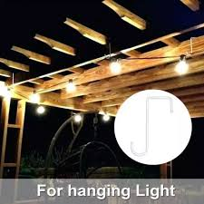 Bhome Vinyl Fence Hook Patio Hook White Powder Coated Steel Hangers Fits Easily For Indoor Outdoor Hanging Lights Plants Planters Bird Feeder Pool Equipment Lazada Ph
