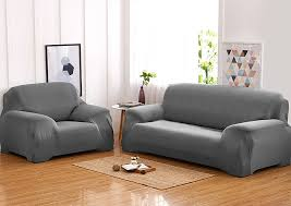 2 seater sofa couch cover 145 185cm grey