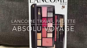 lane absolu voyage makeup travel
