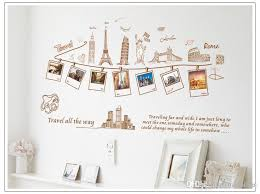 Removable Global Travel Wall Art Decal Stickers Worldwide Famous Building Home Decor Wall Sticker Mural Sweet Memory Photo Frame Wall Mural Wall Transfer Stickers Wall Transfers From Valnur 4 93 Dhgate Com