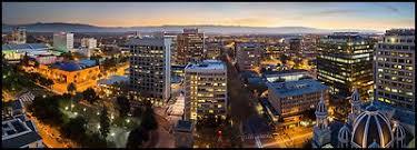 san jose skyline pictures california