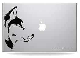 Husky Dog Sticker Decal Macbook Air Pro All