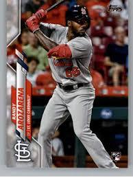 2020 Topps Baseball #229 Randy Arozarena RC Rookie Card St. Louis Cardinals  ...
