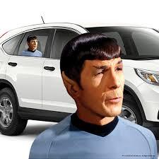 Mr Spock Passenger Window Decal Fanwraps