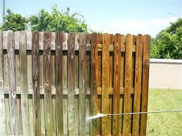 Fence Washing In Central Jersey Clean Clear Power Washing
