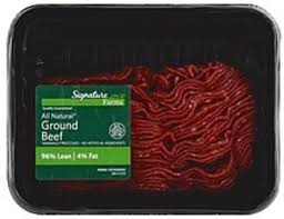 signature ground 96 lean beef 1 ea