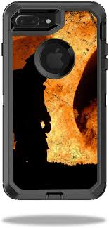 Amazon Com Mightyskins Protective Vinyl Skin Decal Compatible With Otterbox Defender Iphone 7 Plus Case Wrap Cover Sticker Skins Firefighter Computers Accessories