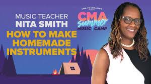 CMA Foundation - Make Homemade Instruments with Nita Smith   CMA Summer  Music Camp   Facebook