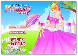 dress up beautiful princesses games