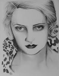 Bette Davis Eyes Drawing by Adriana Holmes | Saatchi Art