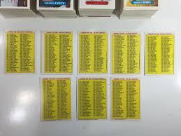 Garbage Pail Kids Sticker Lot 2200 Cards 1986-87 | #1822691985