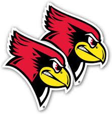 Amazon Com Victorystore Illinois State University Window Decal Set Of 2 Redbirds Arts Crafts Sewing