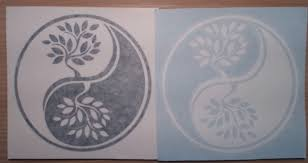 Yin And Yang Tree Of Life Vinyl Decal Etsy