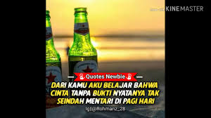 quotes newbie berkelas v