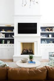 30 stunning white brick fireplace ideas