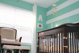 Ahaan S Mint Green Gray And White Neutral Nursery Project Nursery