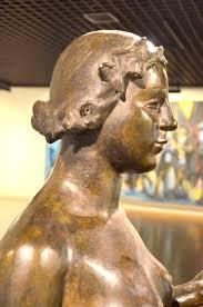 La Nymphe, 1930-1937 par Aristide MAILLOL (1861-1944). Bronze ...