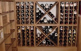 wine rack bespoke oak wine racks
