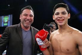 Oscar De La Hoya, Ryan Garcia at odds once again - The Ring