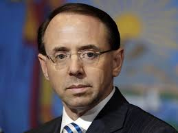 Deputy Attorney General Rod Rosenstein, who oversees Mueller probe ...