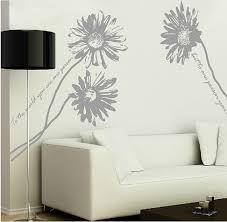 Flower Wall Decal Daisy Wall Decals Vinyl Flowers Wall Sticker Wall Art Nursery Florals Decals Removable Large Daisy F Flower Wall Decals Sticker Wall Art Wall
