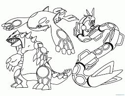 Pokemon Clipart Coloring Pages