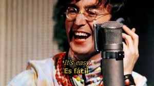 All you need is love - The Beatles (LYRICS/LETRA) [Original] - YouTube