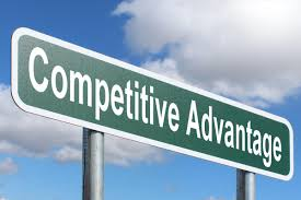 Competitive Advantage - Highway sign image