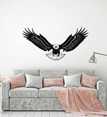 Animals Birds And Butterfles Wall Vinyl Decal Tagged Bald Eagle Wallstickers4you