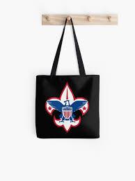 Boy Scouts Car Decal Tote Bag By Yaaaaaaaay Redbubble