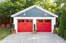 build a two car detached garage