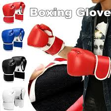 2020 leather boxing gloves boxing