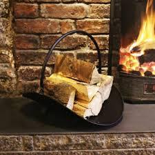 log holder for fireplace rack indoor