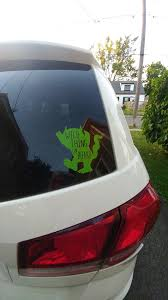 Mines Designs Car Decal 5inx5in Wild Thing On Board 5 Facebook