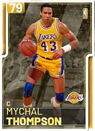 87 Mychal Thompson (79) - NBA 2K19 MyTEAM Gold Card - 2KMTCentral