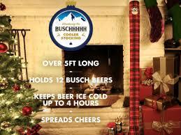 five foot long beer cooler stocking