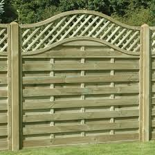 Buy Omega Lattice Trellis Curved Top Fencing At Mick George